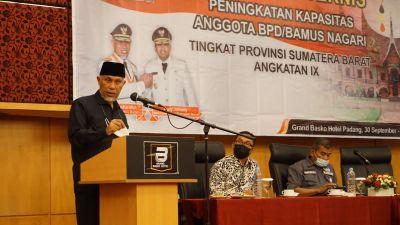 Gubernur Mahyeldi: Nagari Harus Bisa Memanfaatkan Potensi untuk Tingkatkan Kesejahteraan