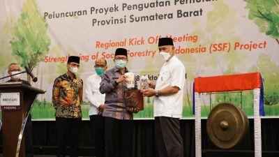 Gubernur Sumbar Dukung Proyek SSF untuk Tingkatkan Kesejahteraan Masyarakat Sekitar Hutan