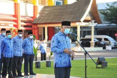 Gubernur Sumbar Ingatkan Pelihara Hutan Dalam Upacara Peringatan Hari LIingkungan Hidup Sedunia