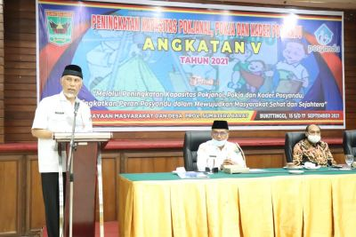 Gubernur Sumbar: Kader Posyandu Diminta Sesuaikan Pola Kerja saat Pandemi