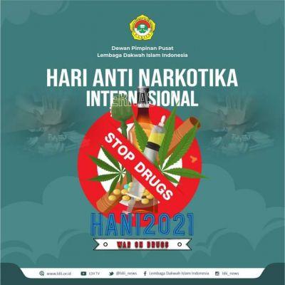 Hari Anti Narkotika International 2021, Ini Pesan Ketua DPW LDII Sumbar