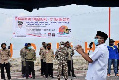 HUT ke-17, Hendri Septa Apresiasi Peran Tagana Tanggulangi Bencana di Kota Padang
