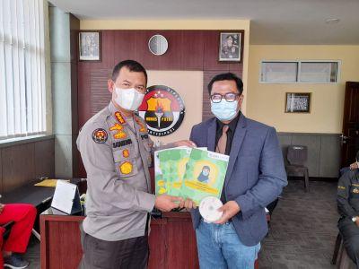 Kabid Humas Polda Sumbar terima Kunjungan Dokter Kesehatan Muhammadiyah Sumbar