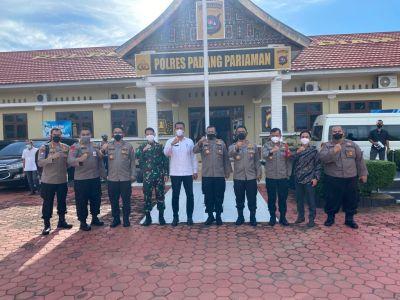 Kakorbinmas Baharkam Polri Kunjungi Polres Padang Pariaman