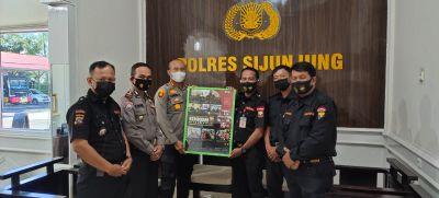 Kapolres Sijunjung Apresiasi Kegiatan Senkom Dalam Membantu Polri Wujudkan Kamtibmas Kondusif