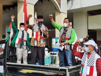 Kecam Tindakan Israel, Gubernur Mahyeldi Berikan Dukungan Aksi Solidaritas Palestina