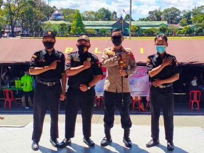 Ketua Senkom Bukittinggi  Ajak Masyarakat Sukseskan Vaksinasi Covid-19 HUT Bhayangkara ke-75