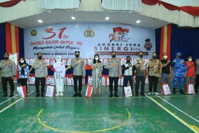 Komjen Pol Agung Budi Maryoto Tinjau Vaksinasi Akpol 1990, Akabri 1996 dan Akpol 1998 di Padang