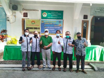 LDII Payakumbuh dan PT Leong Hup Jayaindo Gelar Vaksinasi Covid-19 Bagi Warga Setempat