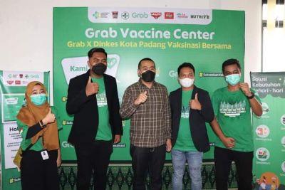 Melalui Grab, Wagub Sumbar Harapkan Jumlah Presentase Vaksinasi Lansia Meningkat