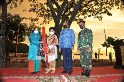 Ny Nanny Hadi Tjahjanto Resmikan Kampung Bahari Nusantara di Sumbar