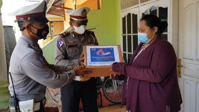 Operasi Patuh Singgalang 2021, Satlantas Polres Padang Pariaman gelar Baksos