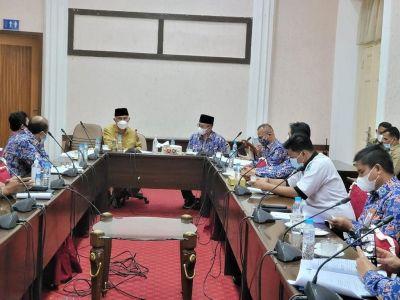 PD PERPAMSI Sumbar Temui Gubernur Mahyeldi Bahas Penyesuaian Tarif PDAM