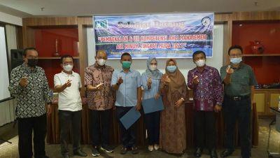 Pelatihan Manajemen Perusahaan Air Minum, Ketua PD Perpamsi Sumbar: Semua Peserta Calon Pemimpin