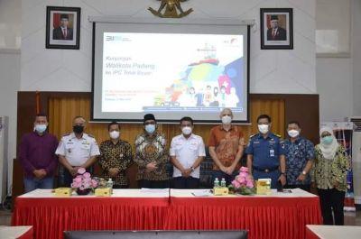 Pemko Padang dan Pelindo II Bahas Pembangunan Maritim Center