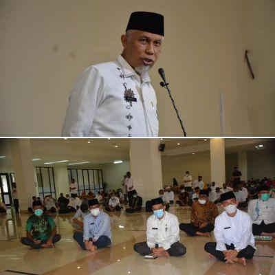 Pemprov Sumbar Peringati Isra Mi'raj di Masjid Raya Sumbar