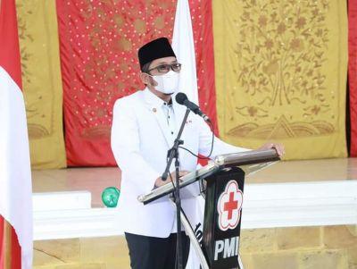 Pengurus PMI Kota Padang Dilantik, Wako Hendri Septa; Pentingnya Peran PMI Dimasa Pandemi Covid-19