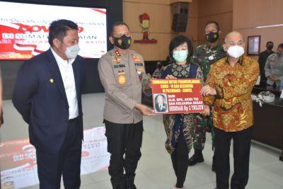 Pengusaha Asal Aceh Beri Hibah 2 Triliun ke Polda Sumsel untuk Penanganan Covid-19