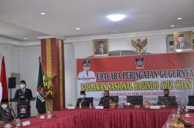 Wako Hendri Septa Imbau Warga Warisi Semangat Perjuangan Bagindo Aziz Chan Hadapi Pandemi Covid-19