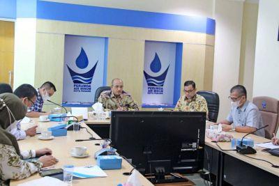 Perumda Air Minum Kota Padang Tandatangani Kerjasama Pembangunan SPAM dengan Bank Nagari