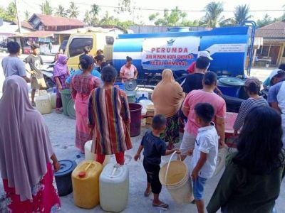 Perumda AM Kota Padang Berbagi Air Kehidupan Untuk Masyarakat