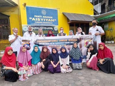 Pokdar Kamtibmas Sumbar Berbagi Berkah Ramadhan ke Panti Asuhan