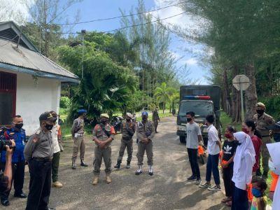 Polres Mentawai, Kodim 0319 dan SatPtol PP Razia Gabungan Dalam Rangka Pendisiplinan Masyarakat