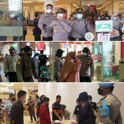 H+3 Polresta Padang Kembali Gelar Operasi Yustisi Menyasar 3 Pusat Perbelanjaan di Kota Padang