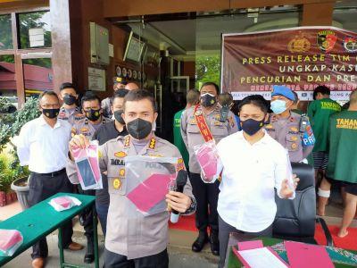 Polresta Padang Ungkap Kasus Pencurian dan Premanisme Selama Sepekan