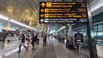 PPKM Darurat Jawa-Bali, Calon Penumpang Pesawat Cek Penyesuaian Operasional Layanan Bandara AP II