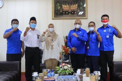 Sinergi Perumda AM Kota Padang dan BPKP, Bahas Rencana Penandatanganan GCG