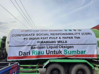 Sumbar Dapat Bantuan Oksigen 30 ton, Mahyeldi: Terima Kasih Riau