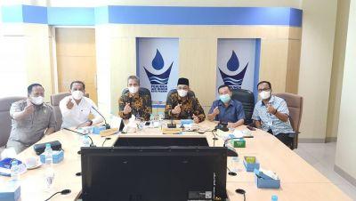 Terkait PPKM Darurat, Komisi II DPRD Padang Kunjungi Perumda AM Kota Padang