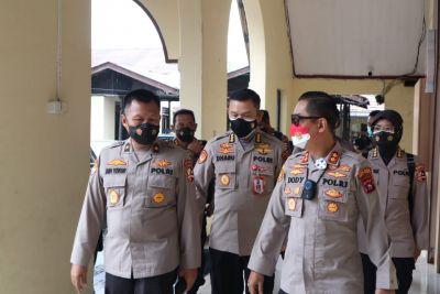 Tim Srena Mabes Polri Melaksanakan Studi Kelayakan Perubahan Tipe Polres Bukittinggi