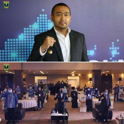 Wagub Audy Joinaldy Buka Peluncuran Program Literasi Digital Nasional di Sumbar