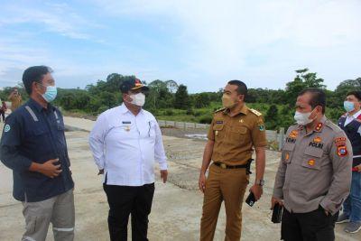 Wagub dan Kapolda Sumbar Tinjau Pembangunan Tol Padang-Pekanbaru