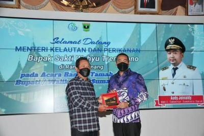 Wagub Sumbar Temu Ramah Tamah Bersama Menteri KKP RI, dan Bupati/Walikota Se-Sumbar