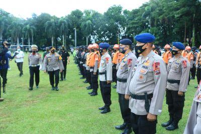Wakapolda Pimpin Apel Gelar Pasukan Operasi Ketupat Singgalang 2021