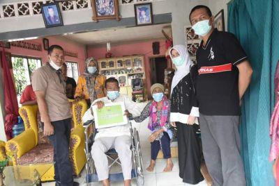 Wako Genius Umar dan Istri Tinjau Program Bedah Rumah, Tetap Pelihara Semangat Gotong Royong
