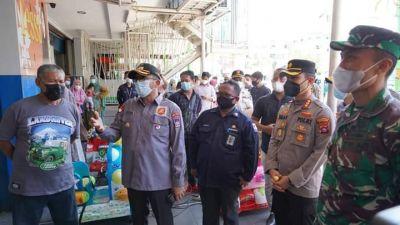 Wako Hendri Septa dan Forkopimda Kota Padang Kompak Tinjau PPKM Hari Pertama