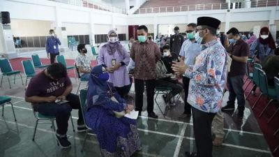 Wako Hendri Septa Dukung 28 Ribu Vaksin Civitas Akademika Unand